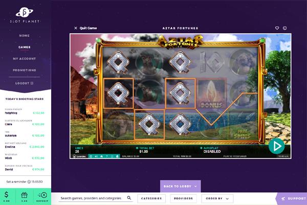 Slot Planet screen shot